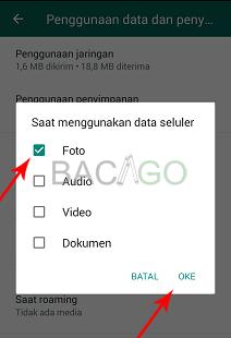 cara menyimpan foto dari whatsapp ke galeri secara otomatis